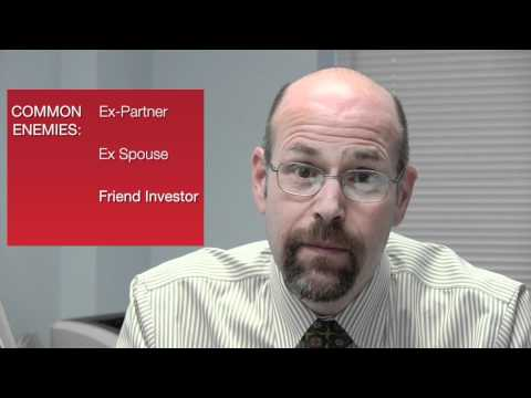 Bankruptcy dealing with enemies