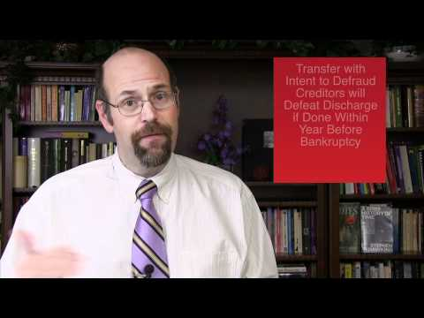 Debtor guilty mind fraudulent conveyances bankruptcy