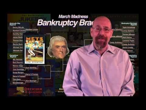 Thomas Jefferson Lenny Dykstra Bankruptcy