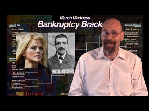 Charles ponzi Anna Nicole Smith Bankruptcy